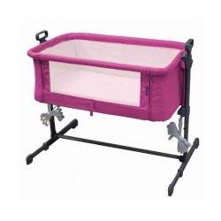 Cuna colecho Side by Side Bed Pink