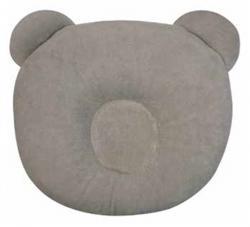 Almohadón de osito gris