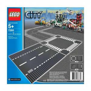 Rectas y Cruces Lego - City