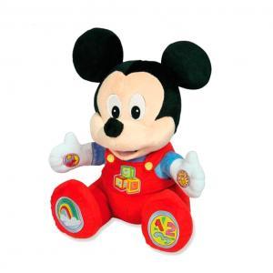 Baby Mickey Peluche parlante Juega y Aprende