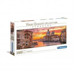 Puzzle Panorámico El Gran Canal de Venecia - 1000 piezas