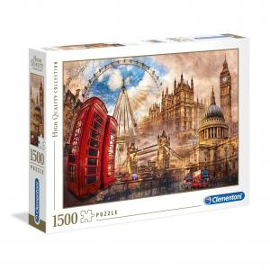 Puzzle Vintage Londres - 1500 piezas