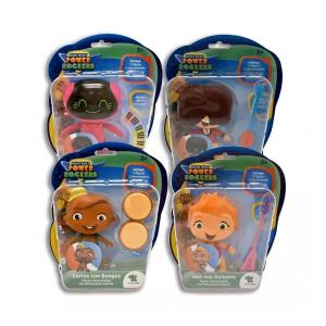 Muñecos Mini Beat Power Rockers de 10 Cm Con Instrumento