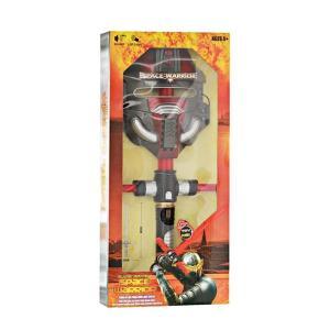 Espada flexible con luz y mascara Guerrero Espacial