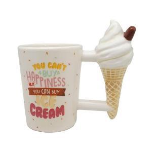 Taza de Cerámica Ice Cream con asa en forma de Helado