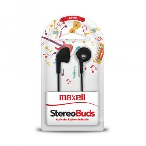 Auriculares Maxell Stereo Buds EB-95 - Negro